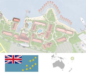 Tuvalu - Tuvalu map